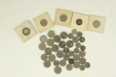 Vintage Estate Mixed Lot WORLD Coins - Canada Some Early Silver