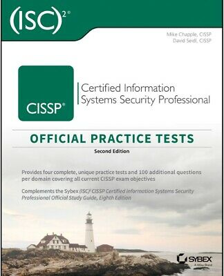 PDF CISSP Official (ISC)2 Practice Tests 2nd edition eB00k