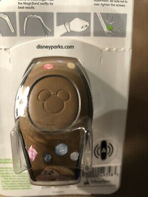 Walt Disney World Magic Band Magicband 2 Snow White And The Seven Dwarfs Brown
