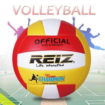 PU Volleyball Professional Soft Volleyball Indoor & Outdoor Training Ball AU Gs