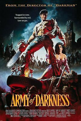 Army of Darkness Evil Dead Movie Art Silk Poster 12x18 24x36