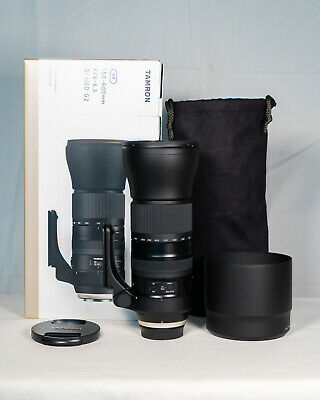 Tamron SP 150-600mm DI USD G2 lens for Sony, used in mint++++ condition with box