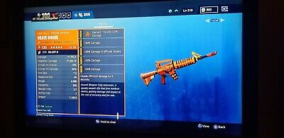 Fortnite   Save The World PL 130 HEARTBREAKER, (PHYSICAL) GOD ROLLS PS4 PC XBOX