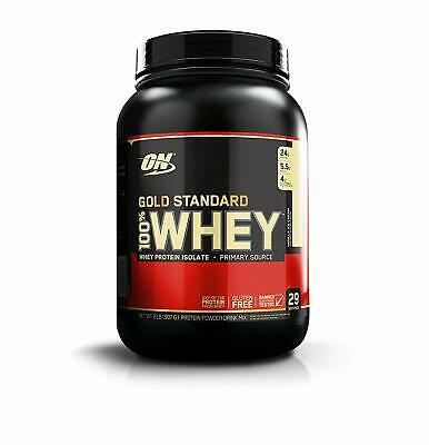 ON Optimum Nutrition 100% Whey Gold Standard 908 gr Proteine del Siero Del Latte