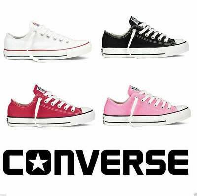 Converse Unisex Chuck Taylor Classic All Star Lo OX Tops Canvas Trainers Shoes