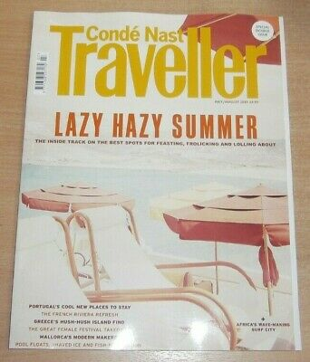 Conde Nast Traveller magazine Jul/Aug 2019 Lazy Hazy Summer. Portugal Mallorca