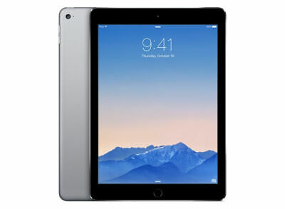 Apple iPad Air 2 128GB, Wi-Fi, 9.7in - Space Grey Retina Display  A+ Grade  Box