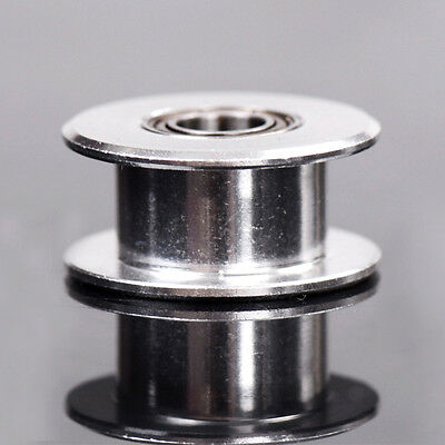 3D Printer HW 20T 5mm Bore Smooth Idler Pulley 6mm GT2 Belt  In NS