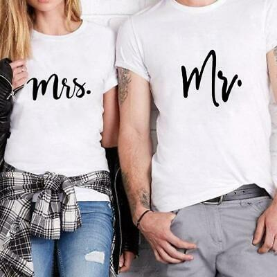 239f09864 COUPLE T-SHIRT - Mr and Mrs Couple Shirt - Mr and Mrs Tee - $14.95 ...