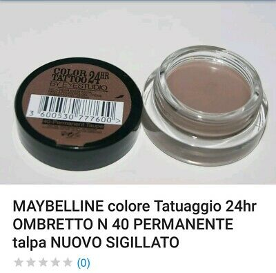 Ombretto May Belline Tattoo 24h