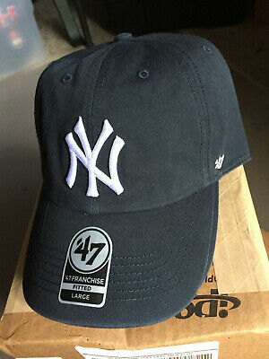 ddaf72552f287b New York Yankees MLB '47 Franchise Fitted Hat Cap Baseball Men's Large ...
