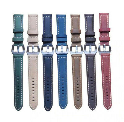 Leather Wrist Watch Band Strap Garmin Vivoactive3/Vivomove/HR/Forerunner 645
