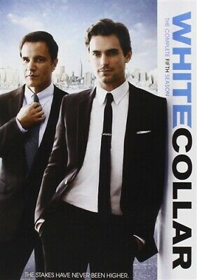 WHITE COLLAR COMPLETE FIFTH SEASON 5 New Sealed 4 DVD Set