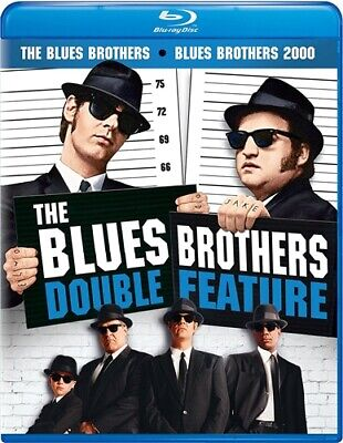 THE BLUES BROTHERS DOUBLE FEATURE New Blu-ray The Blues Brothers + 2000