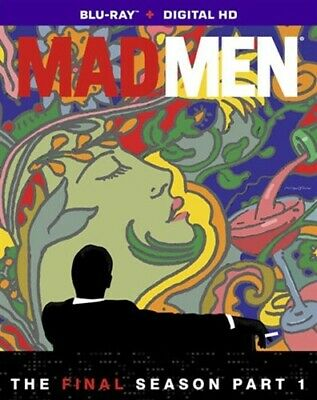 MAD MEN THE FINAL SEVENTH SEASON 7 PART 1 New Sealed Blu-ray
