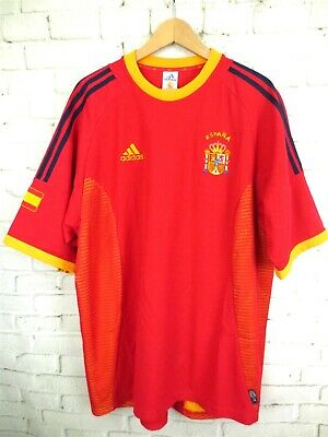 95c7b607a ADIDAS Spain 2002 Espana World Cup Soccer Climalite Soccer Jersey Size XL