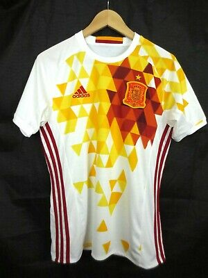 81064a77a NWOT Men's Rare ADIDAS SPAIN World Cup Soccer Shirt Jersey Size Small  Climacool