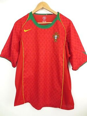 fd4c1ec3d Rare Men's NIKE Total 90 PORTUGAL Stitched World Cup Soccer Jersey Size L