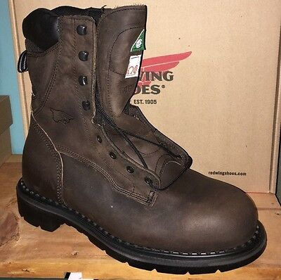 5070a447c1f RED WING 2211 Steel Toe Insulated Waterproof Work Boots 100% Authentic  Clearance