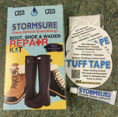 Stormsure Storm Sure Bicycle bike Tyre Inflatable Tent Awning Repair Kit
