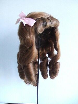 Wig T9 (32 cm) 100% Natural Hair for Reborn Antique-Doll Wigs- Lea