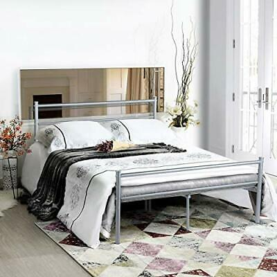 Aingoo Single Bed Solid 3Ft Metal Beds Frame with Large Storage Space ,