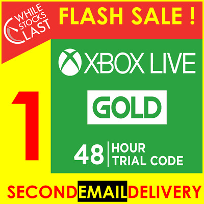 INSTANT Email Delivery - Xbox Live Gold 14 Days 2 Weeks Trial Code WORLDWIDE NEW