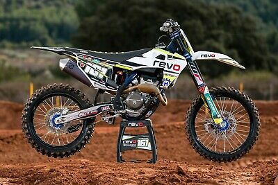 MOTOCROSS DECORO HUSQVARNA TC FC FE TE 125 250 350 450 2014-2017 graphic design