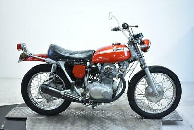 1969 Honda SL350A Unregistered US Import Barn Find Classic Restoration Project