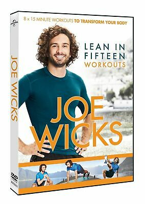 Joe Wicks DVD Exercise & Fitness - Lean in 15 Workouts - 15mins Body Work outs