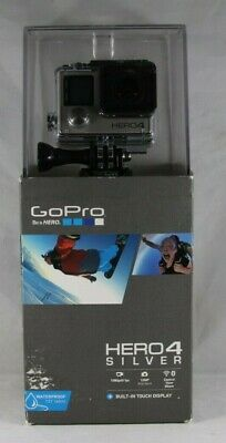 NEW GoPro HERO 4 Action Camera  - Silver edition