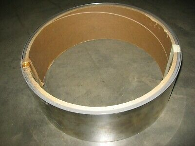 """Ulbrich .018"""" x 6"""" 89 Ft. 2 pc. Roll 302 2B Stainless Steel Sheet Coil 34+ lbs."""