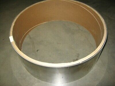 """Ulbrich .018"""" x 6"""" x 22+ Ft. Roll 302 2B Stainless Steel Sheet Coil 7+ lbs."""
