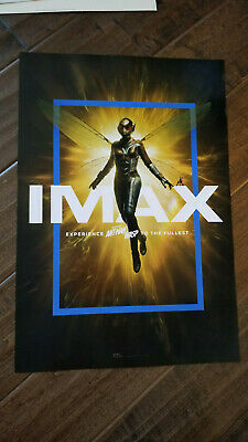 """2019 Sdcc Wondercon Imax Marvel Ant-Man And The Wasp Poster Paul Rudd 13"""" X 19"""""""