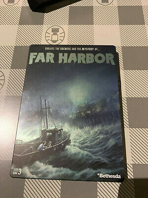 🚨Fallout 4 Far Harbor Steelbook | NEW | VERY RARE | from COLLECTOR