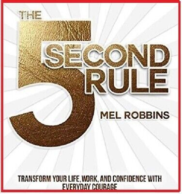 The 5 second rule Transform your life...by Mel Robbins - AUDIOBOOK (e-Delivery)