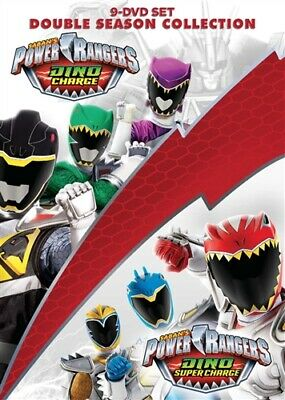 POWER RANGERS DINO CHARGE & DINO SUPER CHARGE COLLECTION New Sealed 9 DVD Set
