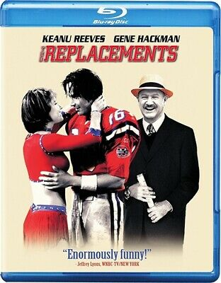 THE REPLACEMENTS New Sealed Blu-ray Gene Hackman Keanu Reeves