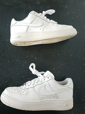 LowSize 38White Uk Nike Women's Force One Af1 Vgc 5eu Leather Air 1 5q3jLc4AR