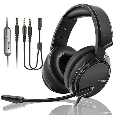 Gaming N12 Suround Stereo Headset Headphone For PS4 PC Laptop Xbox w/ Microphone