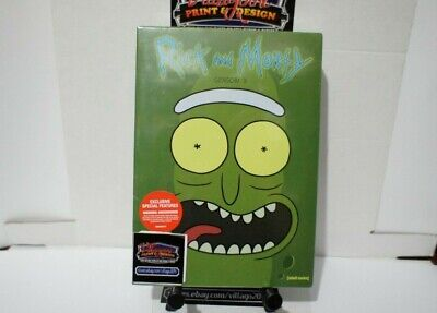 Rick And Morty  Complete Third Season   New Dvd Free Shipping!!