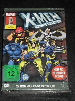 X-MEN ULTIMATE COLLECTION - MARVEL - WOLVERINE CYCLOPS U.A.- 12 DVDs
