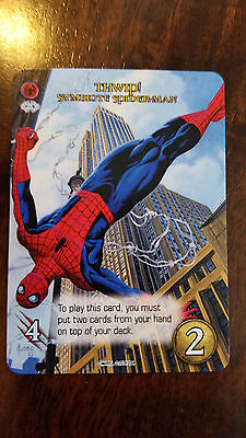 2017 Sdcc Comic con Exclusivo Promo Card Upper Deck Legendary Marvel Spider-Man