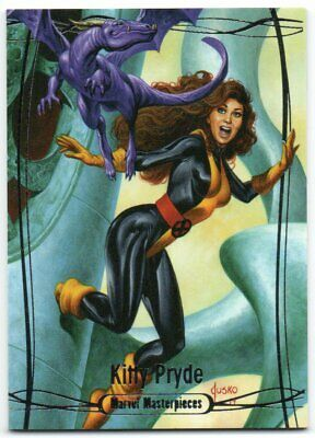2016 Upper Deck Marvel Masterpieces Tier 2 #39 Kitty Pryde /1499