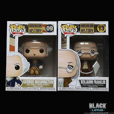 Funko Pop! George Washington Benjamin Franklin American History Icons Pop