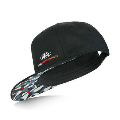Ford Collection Lifestyle Performance Camouflage Noir Casquette Baseball