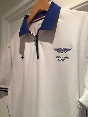 a9d500786 HACKETT POLO SHIRT Aston Martin Racing XXL Pit To Pit 23