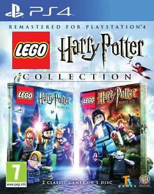 Lego Harry Potter Collection for Playstation 4 PS4 2016 - UK - Grade A