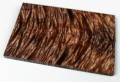 Exhibition Stock Full Size Stabilized Old Growth Curly Koa Knife Scales  SCL8228