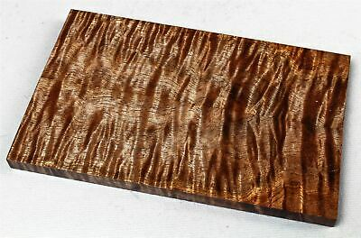 Full Size Old Growth Curly Koa Exotic Knife Scales, Grips, Stabilized  SCL8200